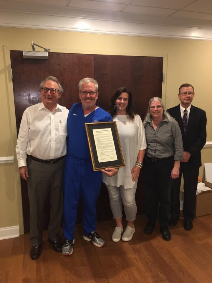 Prosthetics and orthotics in Montgomery, AL, Glenn receives Resolution of Commendation for his service to the prosthetics and orthotics profession in the state of Alabama.